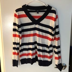 Striped GAP business casual sweater